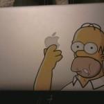 Homer a dévoré la pomme