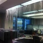Petite innondation dans le bureau