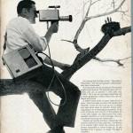Sarkozy avec une caméra