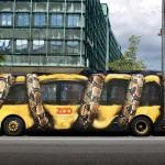 Un bus bien décoré