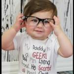 Bébé geek