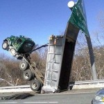 Camion pas prudent