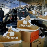 Des chaussures iPhone