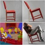 La chaise pour se basculer
