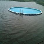 La piscine est sauve