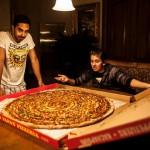 Méga pizza !