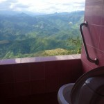 Toilettes avec une très belle vue