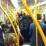 Une smart dans le métro