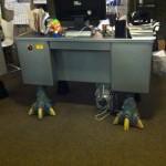 Bureau dinosaure