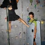 Cosplay mur d'escalade