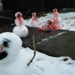 Massacre de bonhommes de neige