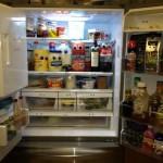 Quelqu'un me regarde dans le frigo