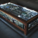 Table basse de geek
