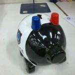 Tirelire de la police