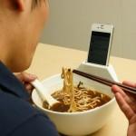 Bol à soupe pour accro à iPhone