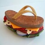 Sandale qui donne faim