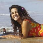 Surfer sur la plage