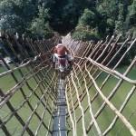 Traversée de pont dangereuse