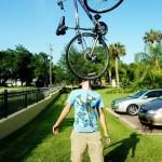 vélo en équilibre