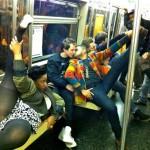 WTF dans le métro