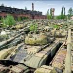 Cimetière de tank