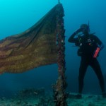 Drapeau sous marin
