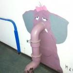 Elephant triste