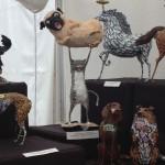 Statue wtf chat et chien