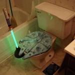 Toilettes Star Wars