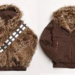 Veste Chewbacca réversible