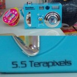 Appareil photo 5.5. terapixels