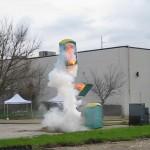 Explosion de toilettes