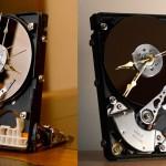 Horloge disque dur