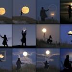 Jouer avec la lune
