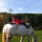 PC sur cheval