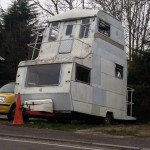 Caravane modifiée