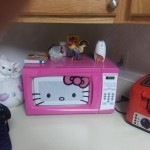 Carrément un micro ondes hello kitty
