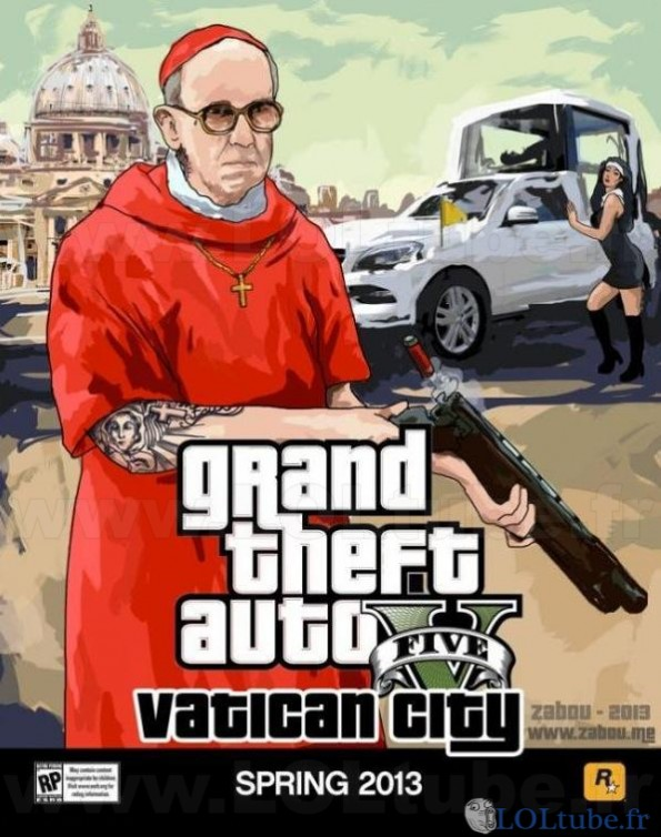 GTA Vatican city