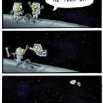 High five dans l'espace