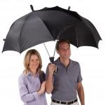 Parapluie pour deux