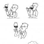 Quand vous goutez du vin