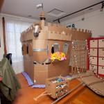 Son propre chateau fort en carton