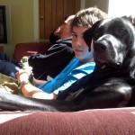 Trois mecs dans un canapé