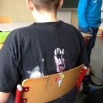 Tshirt et chaise assortis