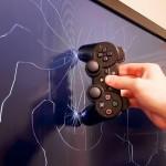 Un gamer énervé