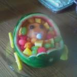 Bébé salade de fruit