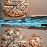 Faire une mini pizza avec une pizza