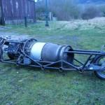 Moto à moteur d'avion