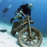 Moto sous marine