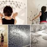 Peinture avec doigts
